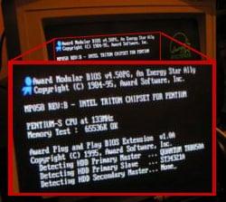 Pentium 133 POST