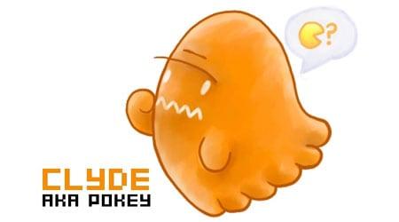 pacman fantasma amarillo clyde pokey