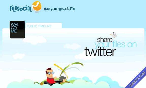 Páginas para subir o compartir archivos: Filesocial
