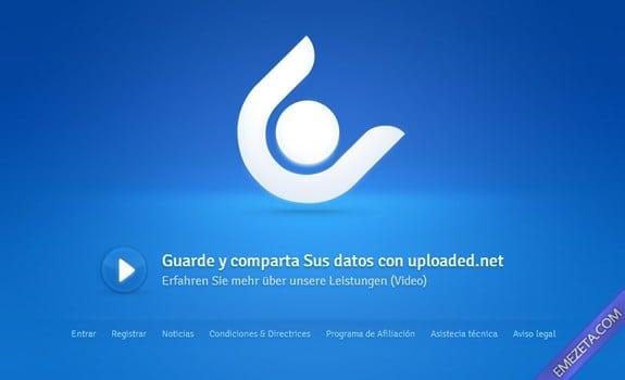 Páginas para subir o compartir archivos: Uploaded