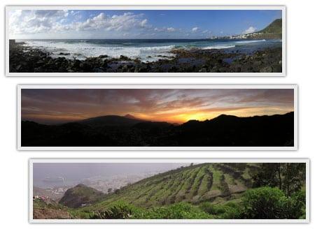 fotografías panorámicas fotos