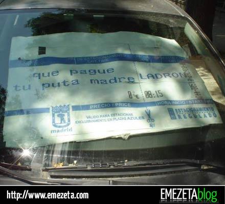 parasol multas definitivo coche
