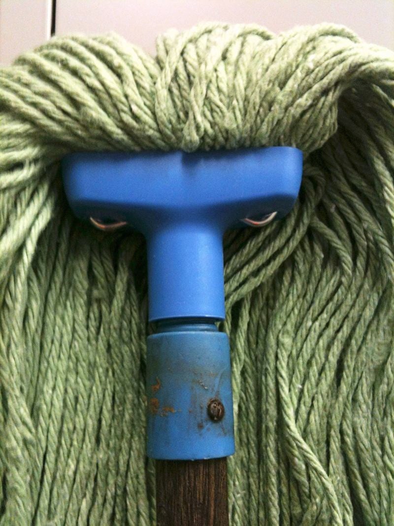 Pareidolia: Angry mop