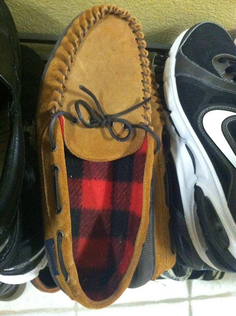 Pareidolia: Zapato risa