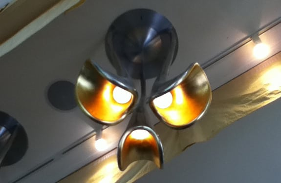 Pareidolia (rostros o figuras en imágenes): Angry Lamp