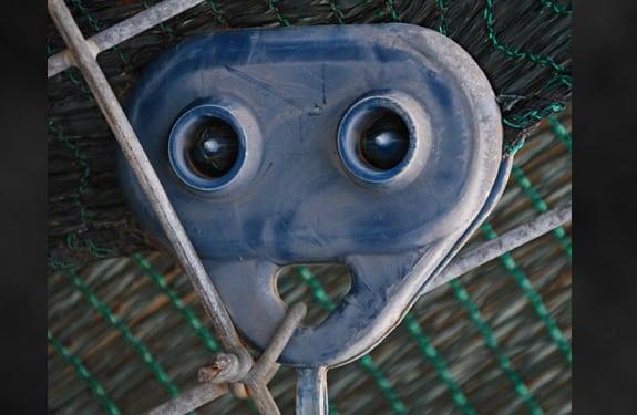 Pareidolia (rostros o figuras en imágenes): Robot de metal