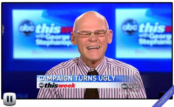 Pausas poco elegantes: James carville ugly