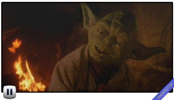 Pausas poco elegantes: Yoda starwars