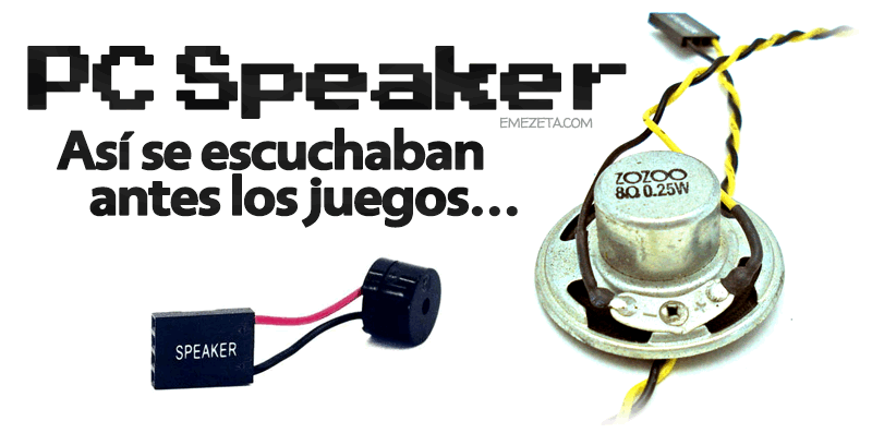 PC Speaker: El altavoz interno del PC