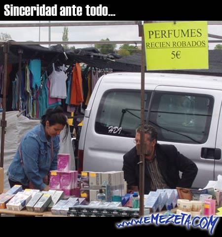 sinceridad perfumes recien robados