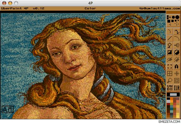 Programas para hacer pixel art: 4p uberpaint