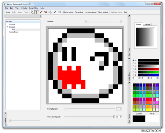 Programas para hacer pixel art: Aether re