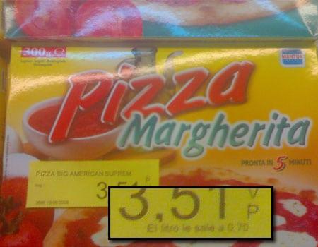 pizza de litro