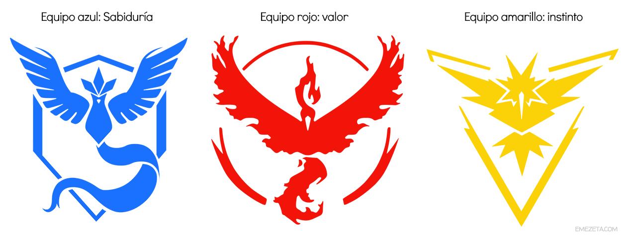 Pokémon Go: Equipo azul, equipo rojo, equipo amarillo