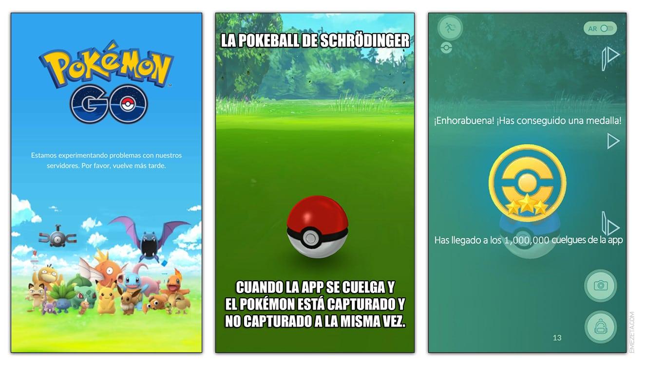 Problemas y cuelgues de la app de Pokémon