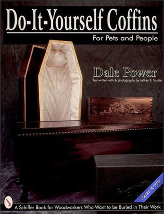 Portadas desconcertantes: Do it yourself coffins