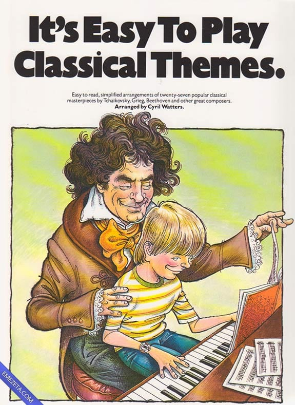 Portadas desconcertantes: Its easy to play classical themes