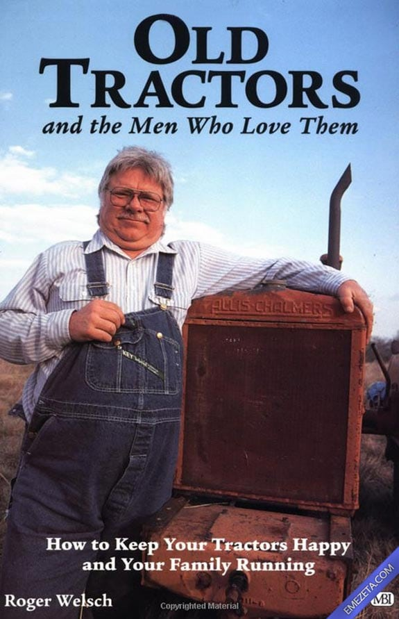 Portadas desconcertantes: Old tractors and men who love them