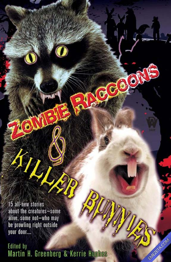Portadas desconcertantes: Zombie raccoons and killer bunnies