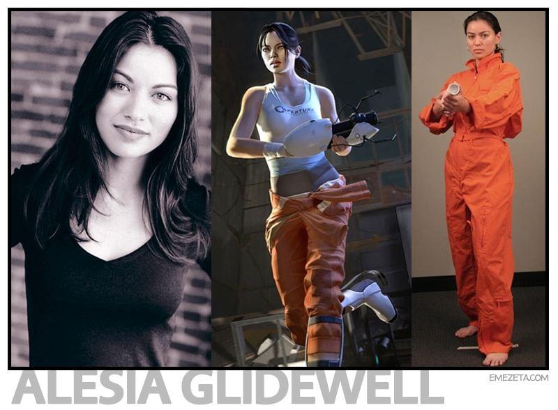Chell (Portal): Alesia Glidewell