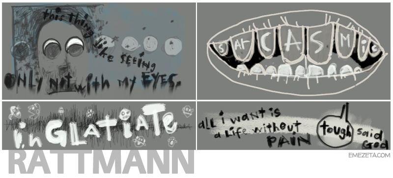 Portal 2: Rattmann dens (Moon eyes, Sarcasmic, inglatiate...)