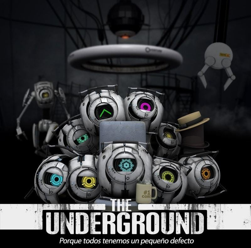 Portal: The underground by superscourgeent