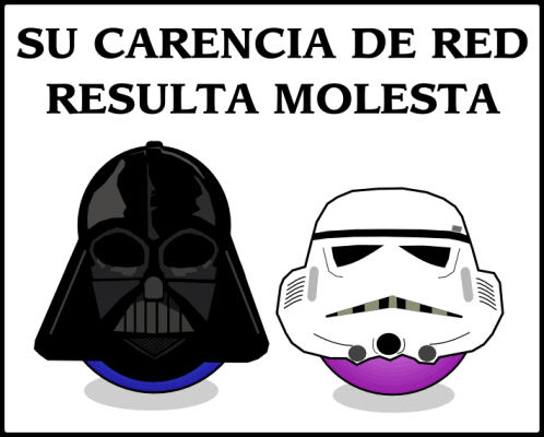 Star Wars: Su carencia de red resulta molesta.