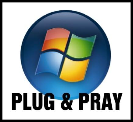 Windows Vista: Plug and pray (Conectar y rezar)