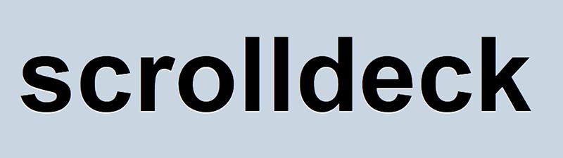 Scrolldeck.js