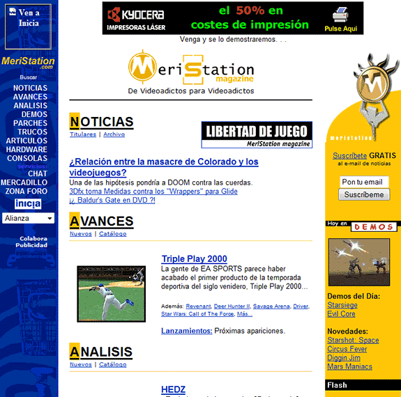 meristation 1999