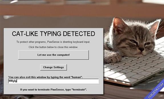Programas inútiles para PC: Pawsense