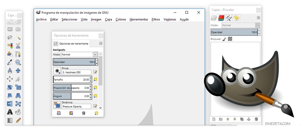 GIMP, siempre dando guerra a Adobe Photoshop