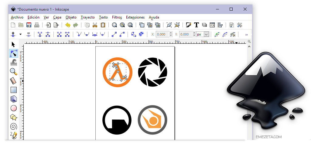 Inkscape, una alternativa a Adobe Illustrator