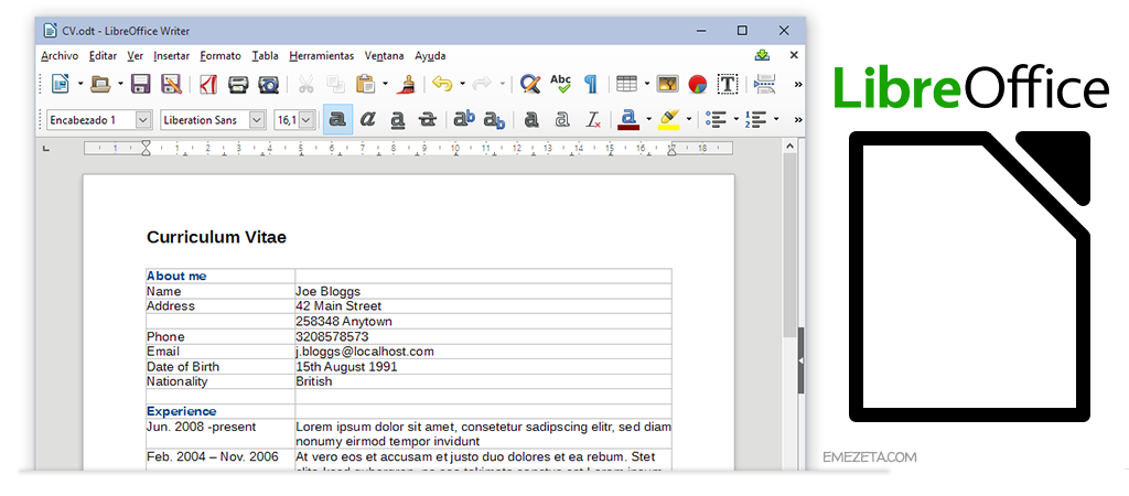 LibreOffice, la alternativa gratuita a Microsoft Office