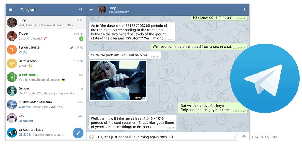Telegram, programa de mensajería seguro y rápido