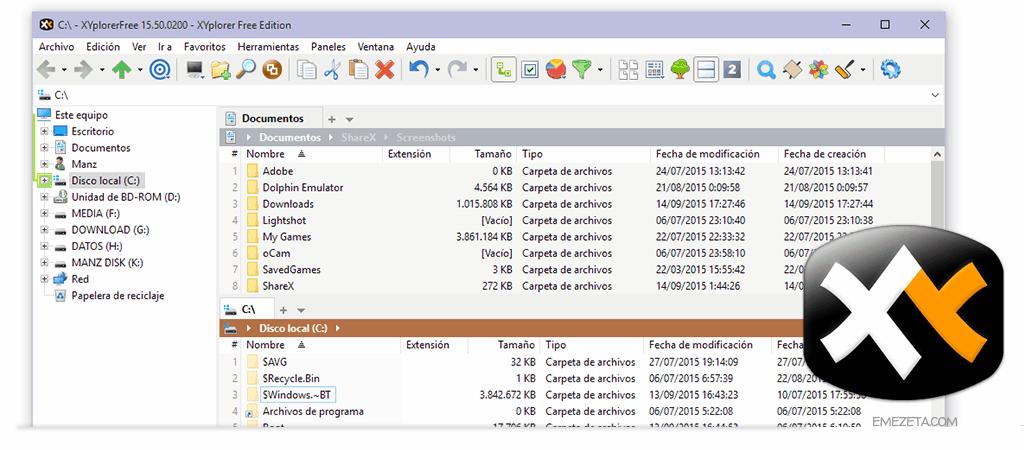 XYplorer Free, un explorador de archivos alternativo al que no le falta de nada