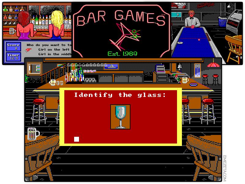 Juego: Bar Games