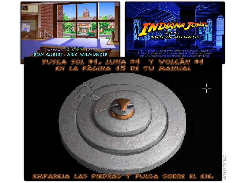 Aventura gráfica: Indiana Jones and the Fate of Atlantis
