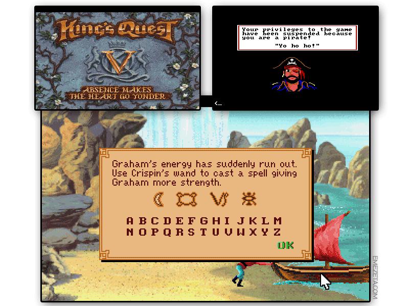 Aventura gráfica: King Quest V