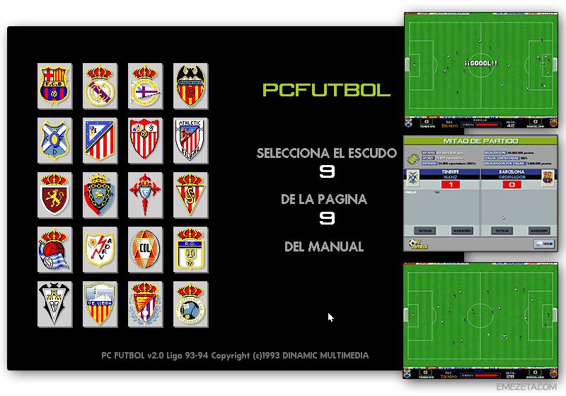 Juego: PC Fútbol