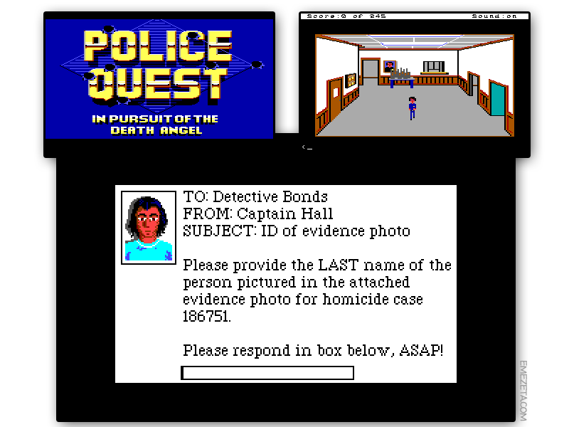 Aventura gráfica: Police Quest