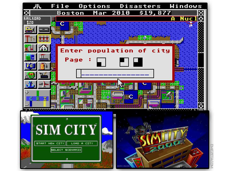 Juego: SimCity