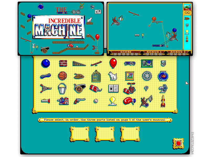 Juego: The Incredible Machine