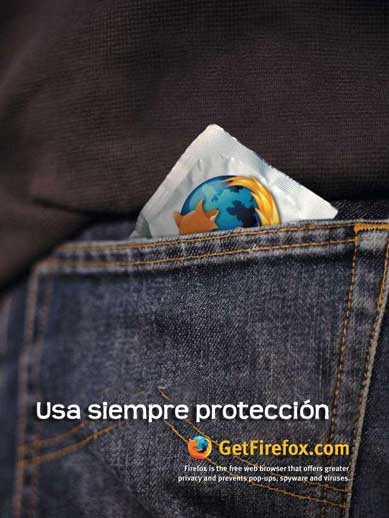 Usa siempre protección