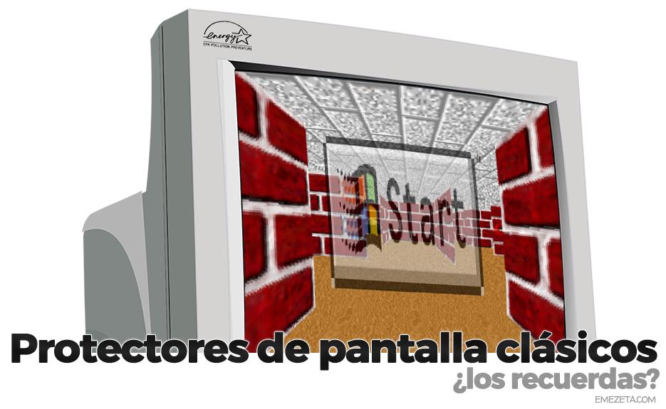 Protectores de pantalla clásicos para Windows