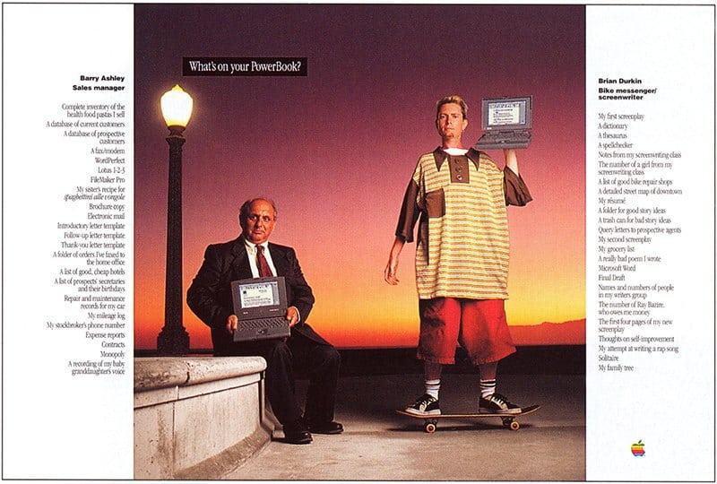 Publicidad retro: Apple PowerBook