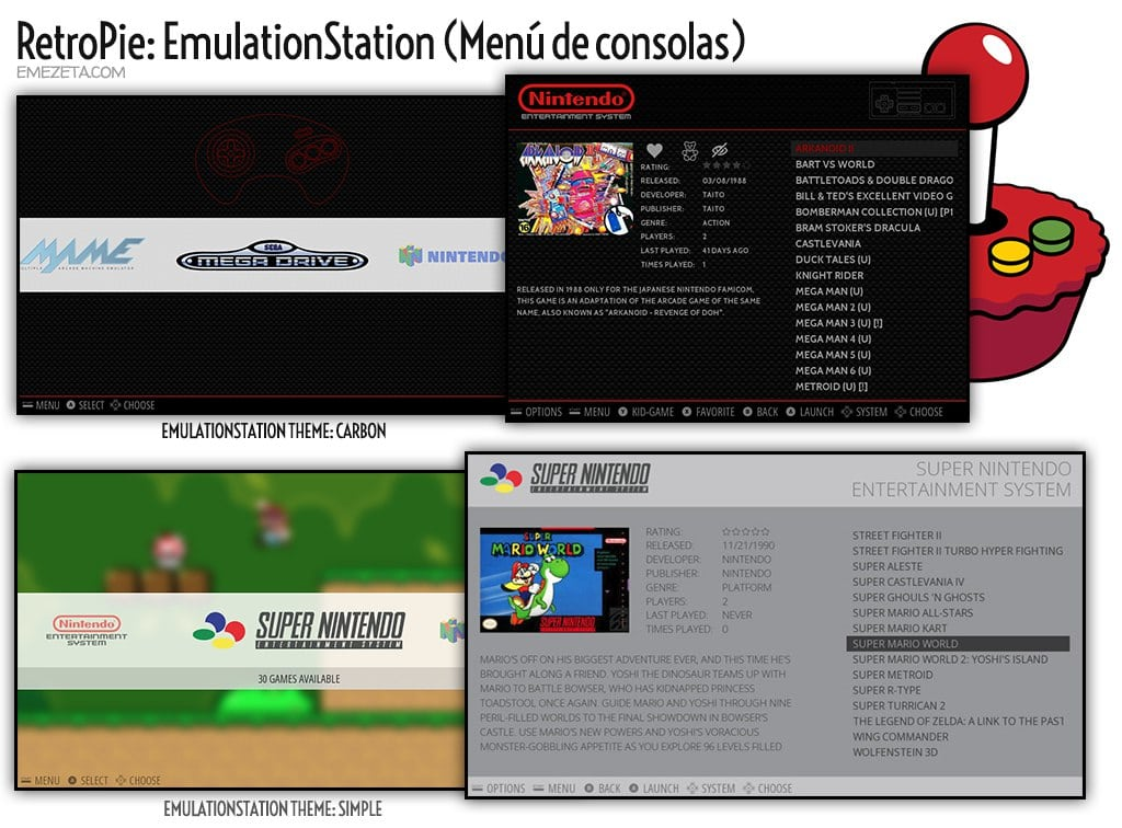 RetroPie: EmulationStation