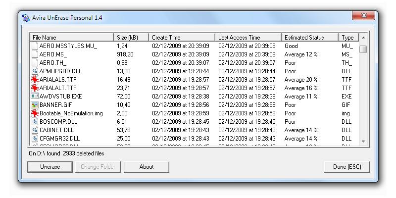 15 aplicaciones gratis para recuperar archivos borrados