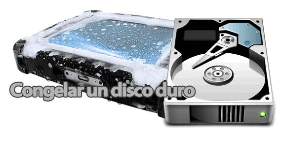 Congelar disco duro para recuperar datos