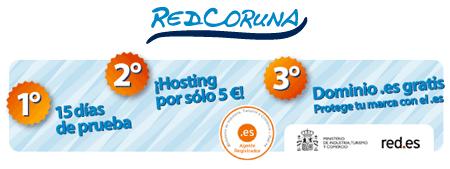 redcoruna hosting tarifa plana